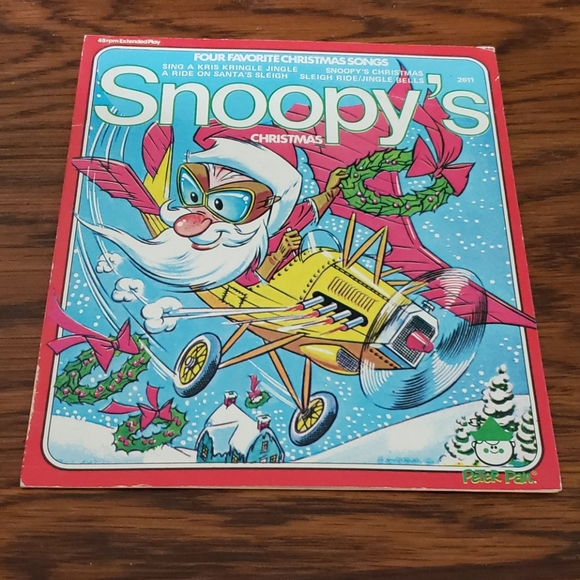 Snoopy's Christmas 45 record